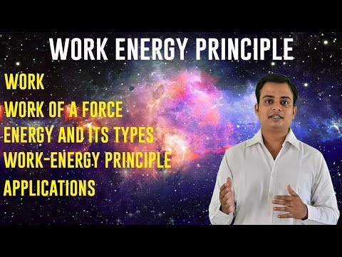 Work Energy Principle | Dynamics | Engineering Mechanics