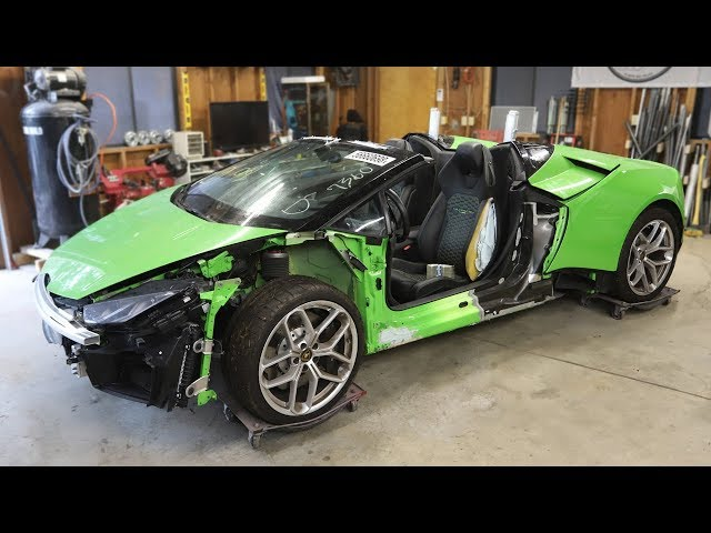 I Bought a Totaled Lamborghini Huracan from a Salvage Auction & I'm going to Rebuild It!