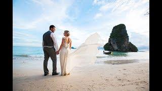 Свадьба на острове Краби Максима и Ольги