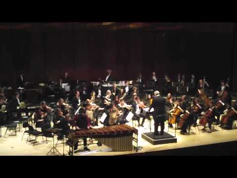 Bodine: Concerto for Marimba and Orchestra - Mvt. 1