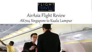 AirAsia Flight Review: AK704 Singapore to Kuala Lumpur