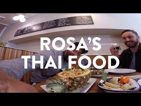 THAI FOOD IN LONDON   ROSA'S THAI CAFE IN SOHO   What's Good London