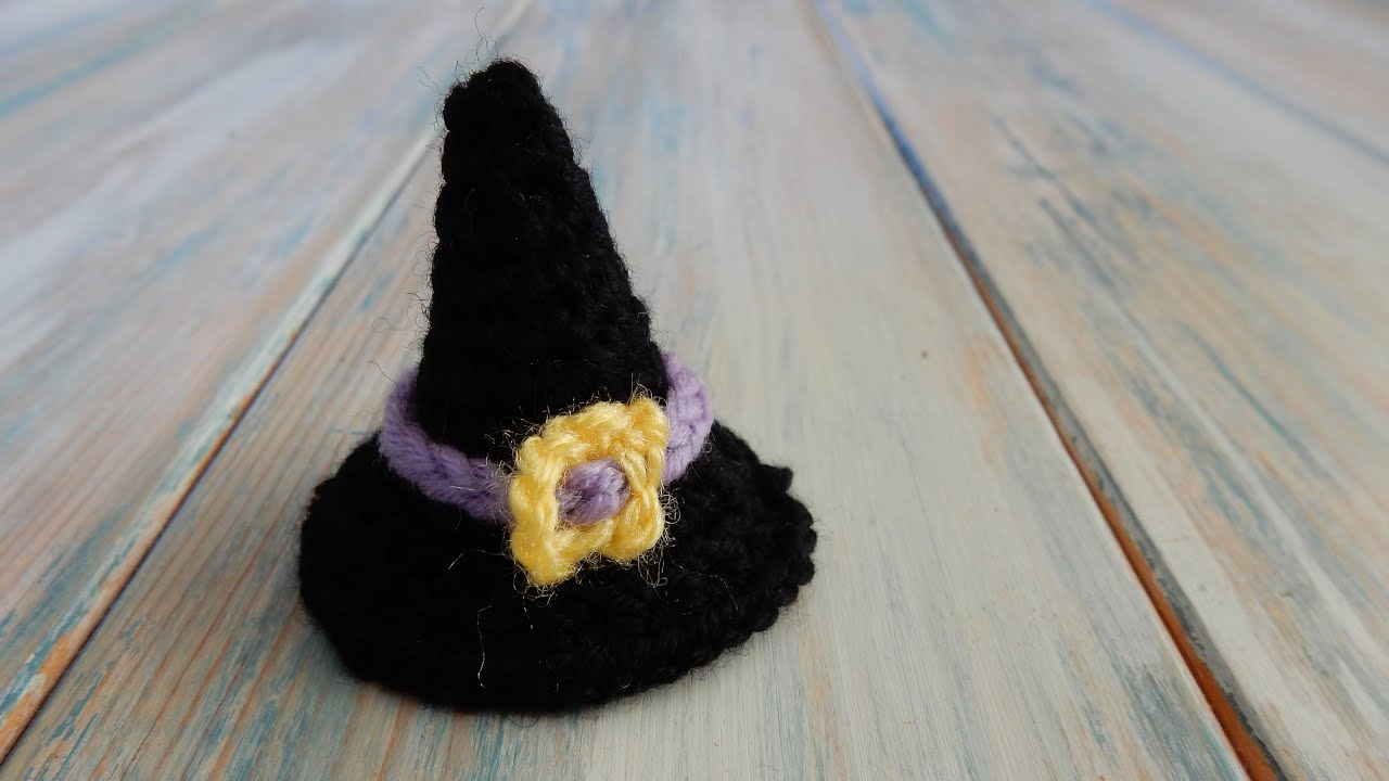 Adorable amigurumi witch cat (free amigurumi pattern) | Mindy | 720x1280