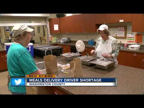 Washington County meal delivery program in need of volunteer drivers