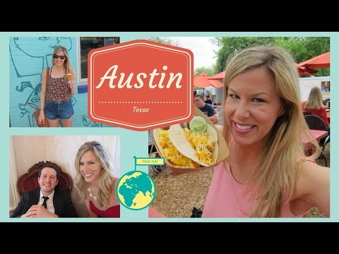 VLOG: Tacos & Wedding Adventures in Austin, Texas | Kathryn