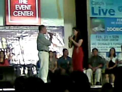 celebrity duet  at sm baliwag