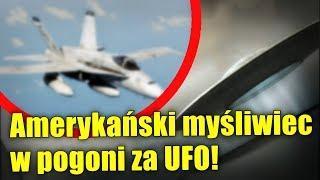 Amerykanie odtajnili nagranie z pościgu myśliwca za UFO!