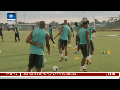 WCQ: Nigeria Intensify Preparation For Algeria Clash |Sports Tonight|