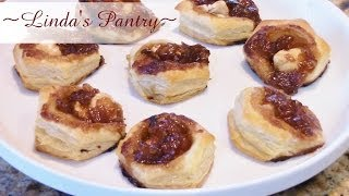 ~sweet Onion Jam Mini Tarts With Linda's Pantry~