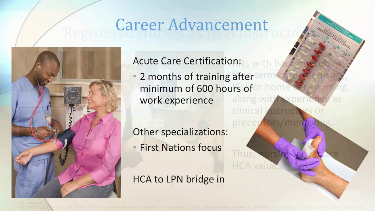 Health Care Assistant In Bc British Columbia 3 Hca Education