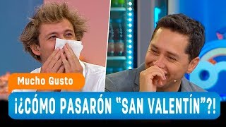 """Las entretenidas respuestas de cómo pasó el panel """"San Velentín"""" - Mucho Gusto 2019"""