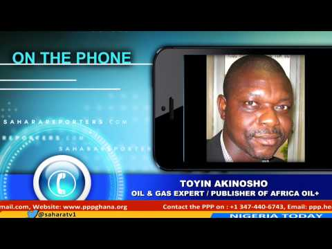 Toyin Akinosho An Oil & Gas Expert Discussing The State Of N