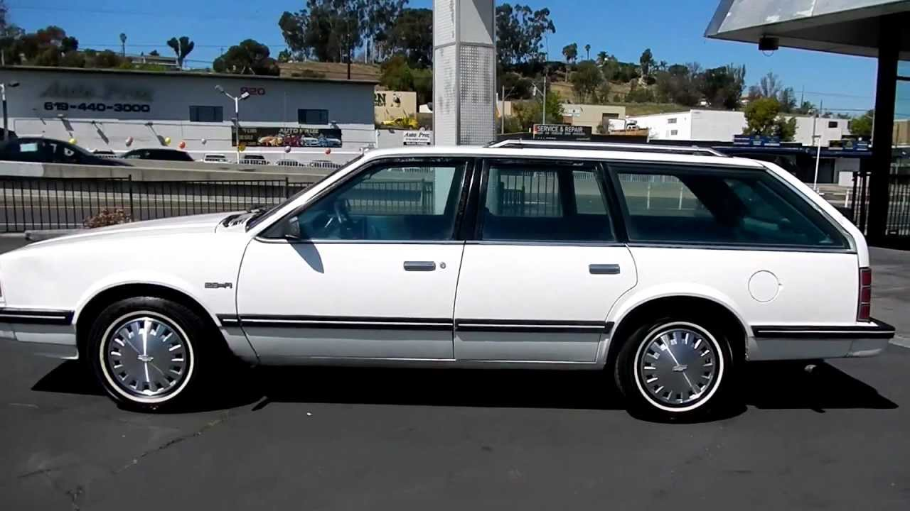 1989 Chevrolet Celebrity wagon | Probably the most ...