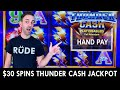 ⚡ $30 Spins leads to a Thundering HandPay Jackpot! ⚡