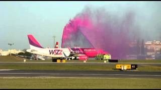 wizz air first ever landing in lisbon airport