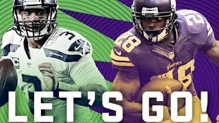 Seahawks vs Vikings | NFC Wild Card Playoffs | Madden 16