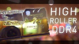 ROYAL Trident-Z RGB Memory, Synthetic Water Build, RipJaws KM660   G.Skill Computex