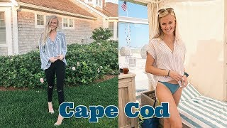 TRAVEL WITH ME // Cape Cod