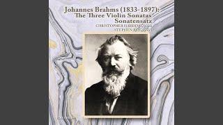 Sonata in D Minor, Opus 108: Un poco presto e con sentimento