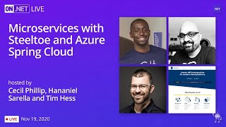 On .NET Live - Microservices with Steeltoe and Azure Spring Cloud