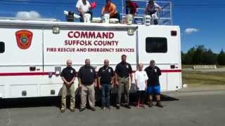 Suffolk County OEM Accepts the ALS Ice Bucket Challenge