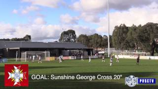 Pascoe Vale SC VS Sunshine George Cross U18s PVSCTV Highlights