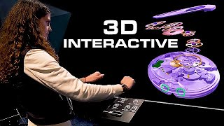 Hypervsn 3D Modeler - 3D Interactive Holographic Display