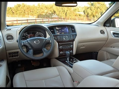 2018 Nissan Pathfinder Platinum Interior Youtube