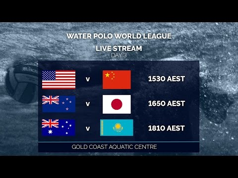 Water Polo World League - Day 3
