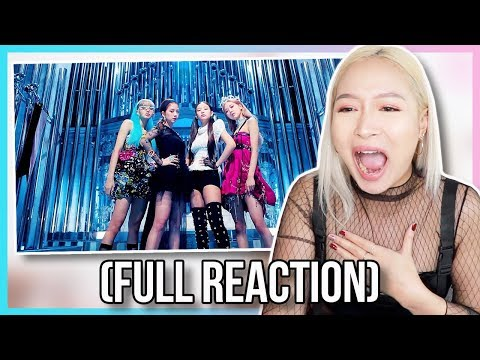 (FULL REACTION) BLACKPINK - 'Kill This Love' M/V REACTION