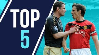 Top 5 | Liverpool v Manchester United Clashes