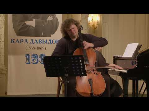 Fedor Amosov (cello) English Hall of St. Petersburg Music House 2018-03-28