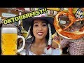 MUST DO & EAT in Oktoberfest, BIGGEST BEER FESTIVAL in the world!
