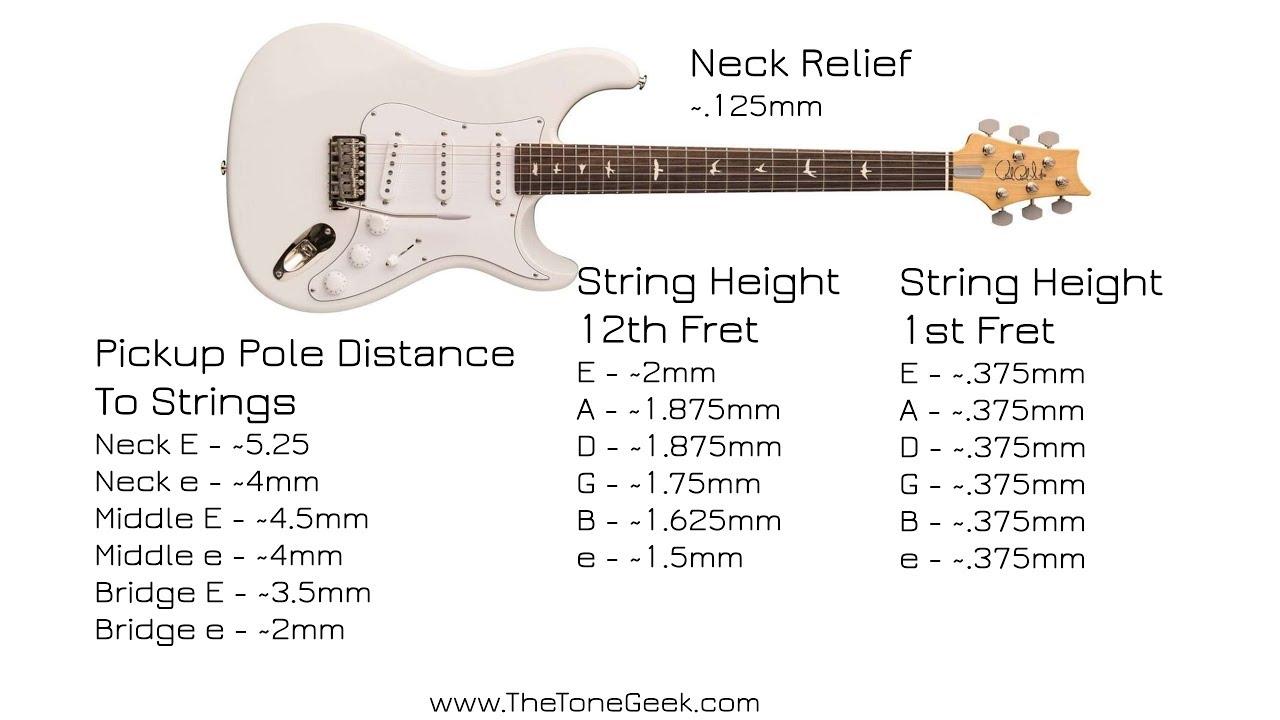 prs john mayer silver sky guitar factory setup measurements youtube. Black Bedroom Furniture Sets. Home Design Ideas