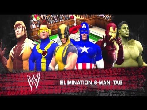 X-MEN vs The Avengers [6 Man Elimination Tag] - WW