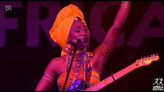 Fatoumata Diawara in Concert - 30th Africa Festival Würzburg (2018)