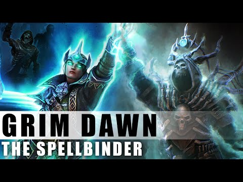 Grim Dawn - Albrecht's Aether Ray Spellbinder With The Clairvoyant Set
