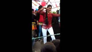 new hot village aunty dance on floor  || dance and fun