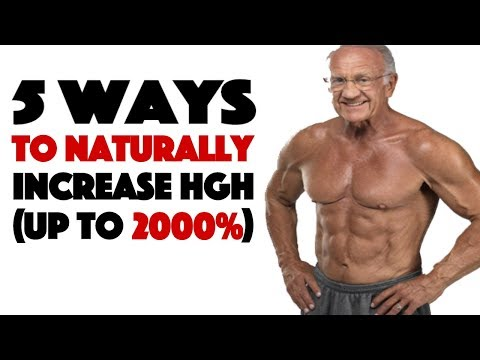 Human Growth Hormone The True Fountain of Youth 5 Ways to Increase it Naturally