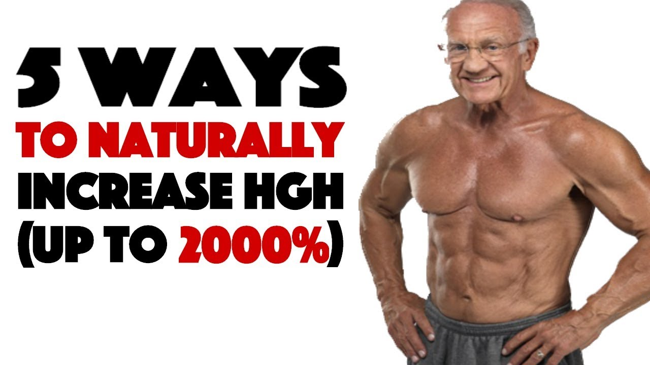 Human Growth Hormone The True Fountain Of Youth 5 Ways To Increase It Naturally Youtube