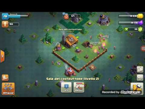Secondo villaggio clash of clans