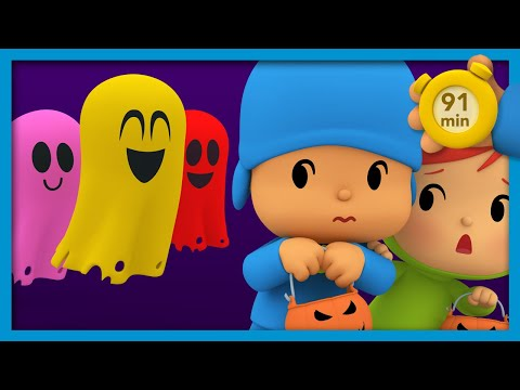POCOYO AND NINA -  The Haunted House [91 min] | ANIMATED CARTOON for Children | FULL episodes