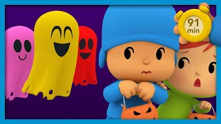 😱 POCOYO AND NINA -  The Haunted House [91 min] | ANIMATED CARTOON for Children | FULL episodes