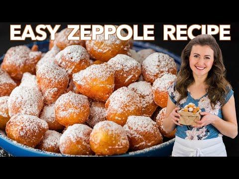 The Easiest Italian DONUTS Yess - Zeppole Recipe