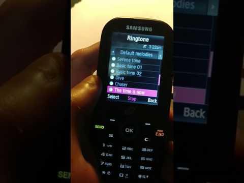 Samsung T404G ringtones