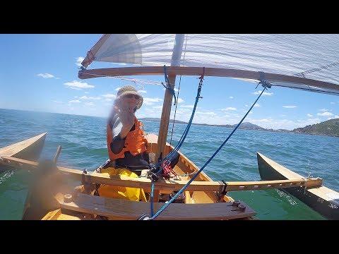 "Canoe Eureka ""La Savonnière"" Piriápolis - Pta Colorada round trip"