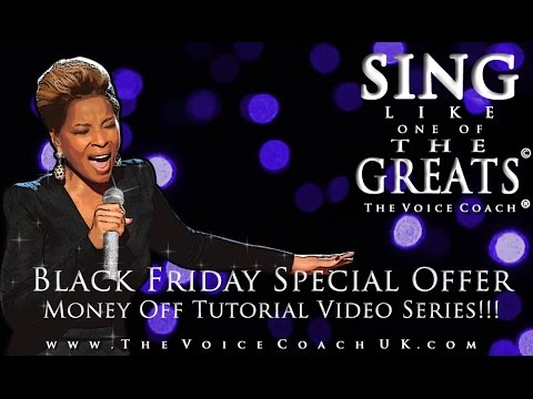 Black Friday Discount Singing Lessons By The Voice Coach