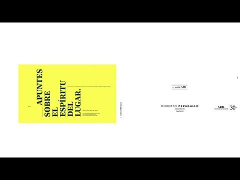 Clase Magistral SurSur: Docente y Arquitecto Roberto Peragallo