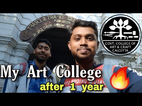 Journey 🚂✈ to  my  Art  College / Government  College  of  Art  and  Craft  #artcollege  #pritamshaw