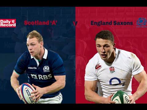 Scotland 'A' v England Saxons
